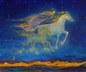 Dreaming with Horse Spirit