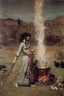 400px-John_William_Waterhouse_-_Magic_Circle.JPG